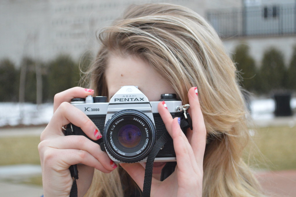 Girlfriend and the Pentax
