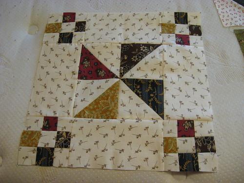 Then Quilt block 2