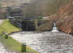 Lock 21 and Gauxholme Bridge