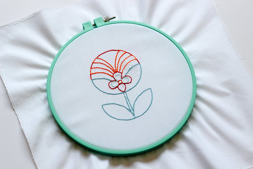 Florette Embroidery Pattern by Jeni Baker