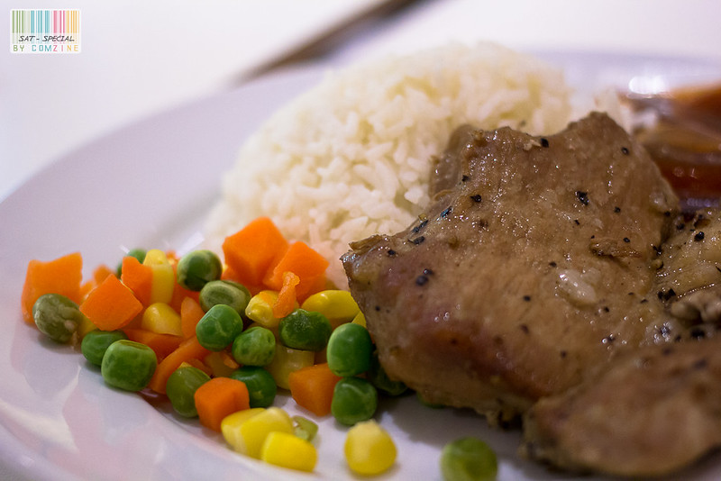 มื้อเล็กๆ - Black pepper pork steak