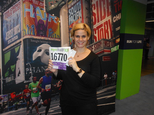 Ready for the NYC Half Marathon!