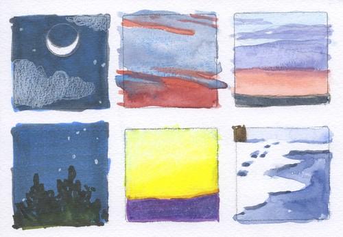 six skies by Bricoleur's Daughter