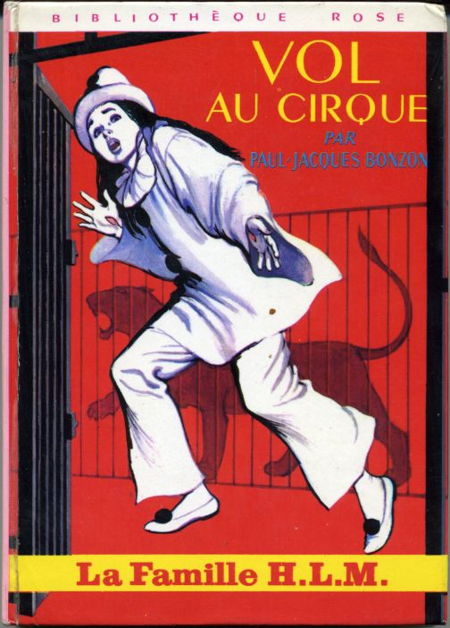 Vol  au cirque, by  Paul-Jacques BONZON