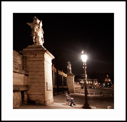 parijs bij nacht by hans van egdom