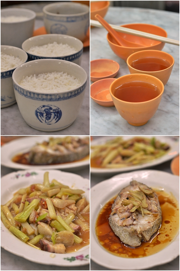 Steamed Rice & Traditional Dishes