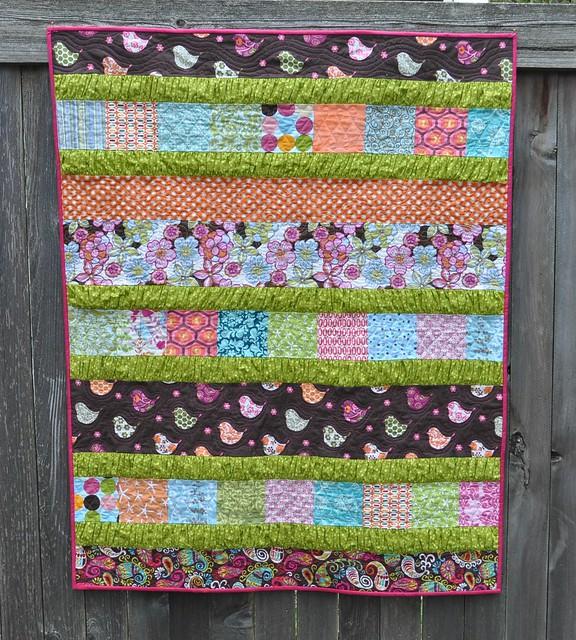 birdie ruffle crush quilt