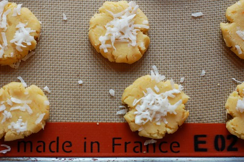 Vegan Mandarin Coconut Cookies by Eve Fox, Garden of Eating blog, copyright 2013