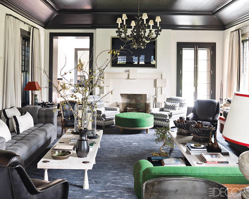 Gray Green Living Room Hamptons Style By Steven Gambrel A Photo On Flickriver