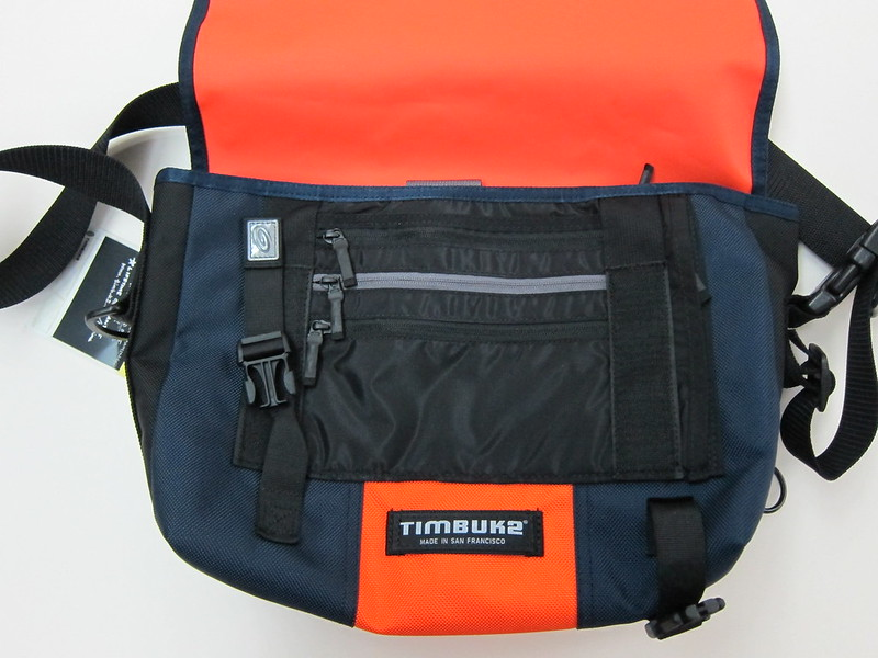 Timbuk2 Custom Laptop Messenger Bag - Flap Open View