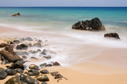 longexposure sea colour beach rocks waves stones wave caribbean guadeloupe grandanse seawater nd8