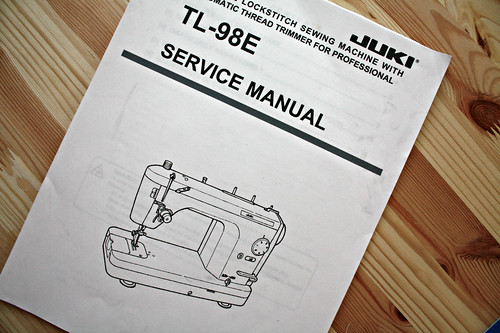 Yay, a service and repair manual!