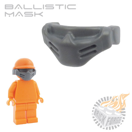 Ballistic Mask - Dark Blueish Gray