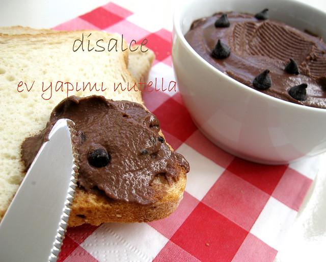 ev yapımı kahvaltılık çikolata