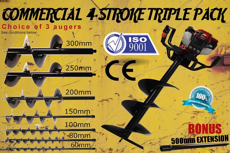 PHD-CX standard auger 3