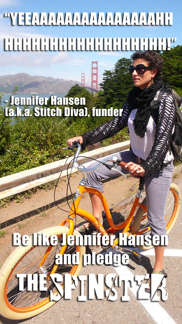 Jennifer Hansen backed The Spinster