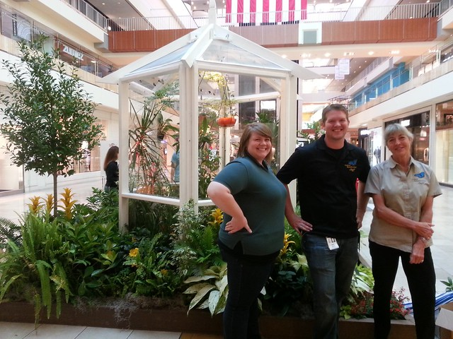 The Cockrell Butterfly Center staff hits The Galleria for Primavera 2013