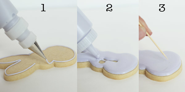 poka dot bunny cookies 5