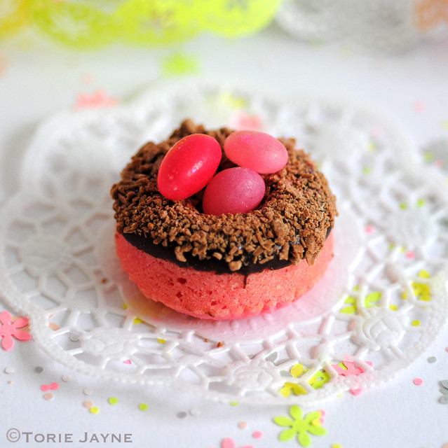 Gluten free Tiny doughnut nest