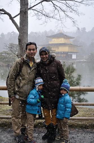 winter 2013 - kinkakuji
