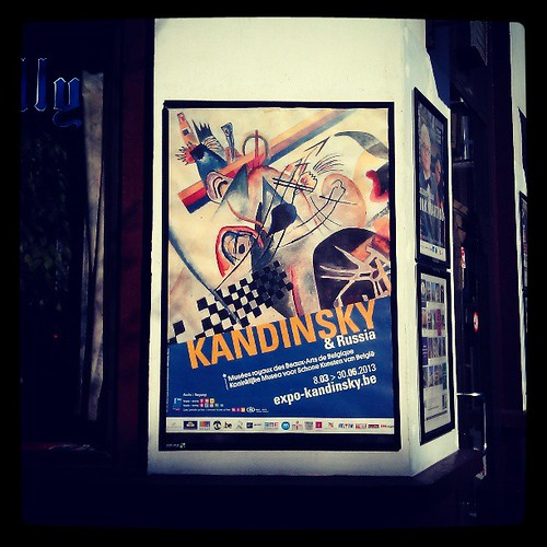 #kandinsky #expo #exhibition from Russia with love #brussels #bozar