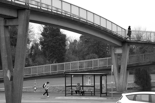 Footbridge, Northern Rd (A3) Portsmouth