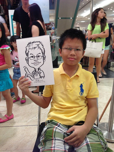caricature live sketching for Takashimaya Good Friday Special - 35