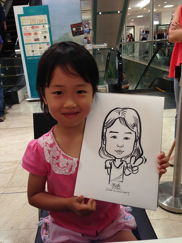 caricature live sketching for Takashimaya Good Friday Special - 27