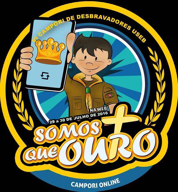 "Campori Online- USeb ""Somos mais que ouro"""