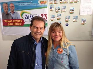 Paulinho visita Piraju (SP)