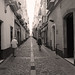the streets of Cadiz
