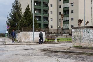 06 Le verità - Foto di scena - Francesco Montanari e Massimo Poggio