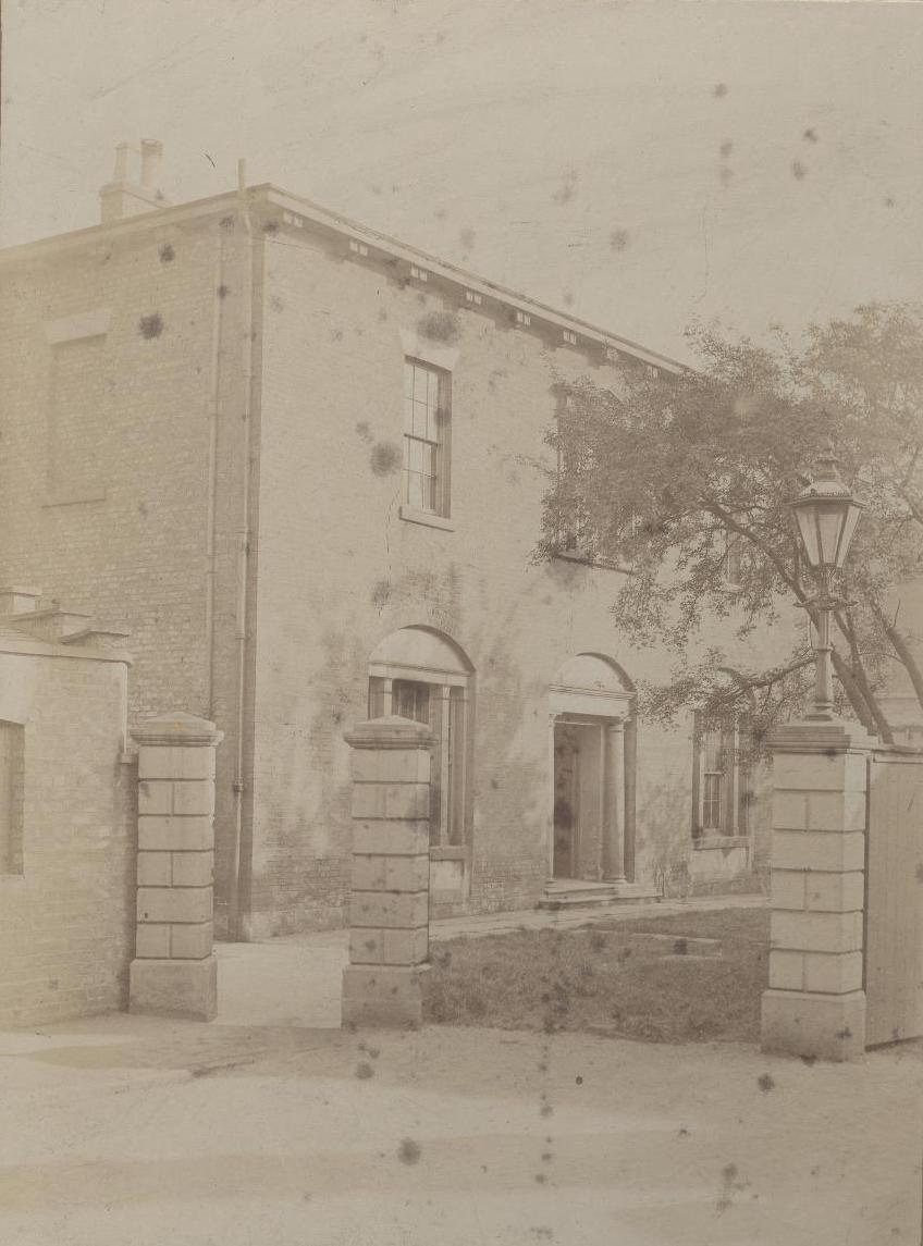 Registry of Deeds, Register Square, Beverley 1870 (archive ref DDX328-17)