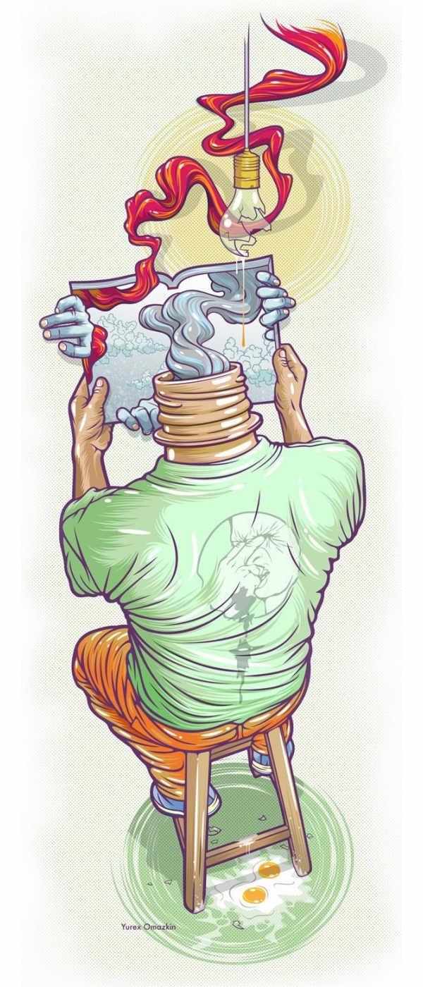 ilustraciones hechas por yurex