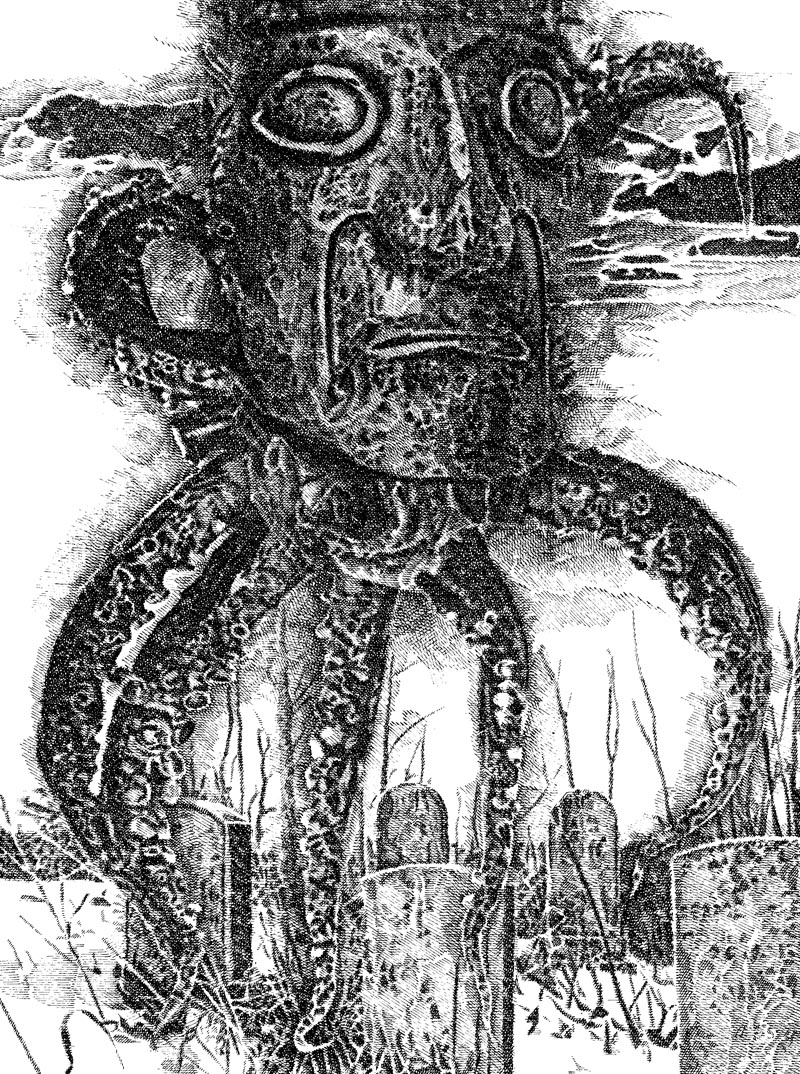 Murray Tinkelman - H.P Lovecraft Illustration 7