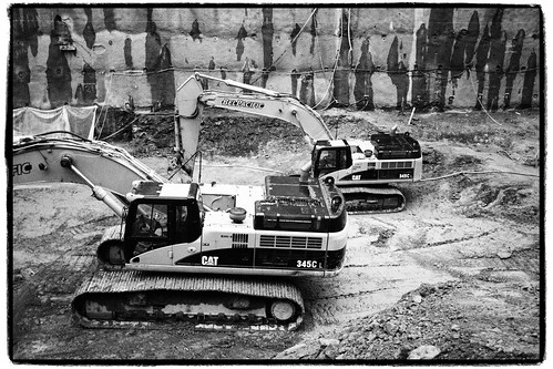 Richards Street excavation