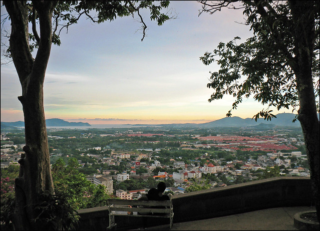 Rang Hill (Khao Rang) Sunset