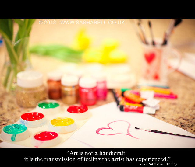 """Art is not a handcraft it is the transmission of feeling the artist has experienced."""