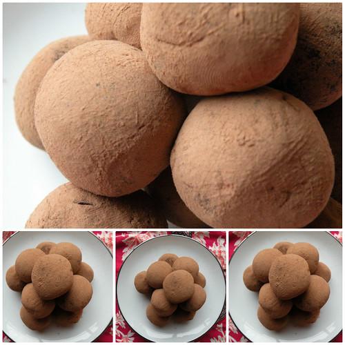 Mrs. Fields Secrets Chocolate Mint Truffles