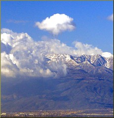 Mt. Baldy from Redlands, CA 12-27-12d