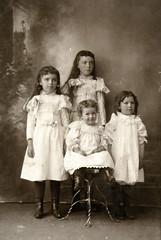 Pearl, Gertrude, Viola and Hazel Bausman
