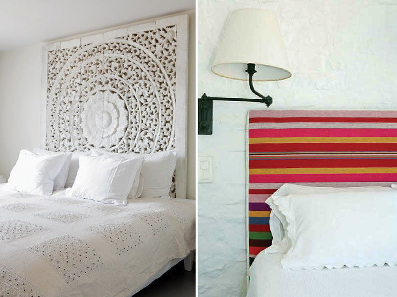 Diy headboard tips ideas platform beds online blog for Cool bed head ideas