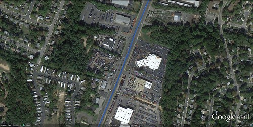 US Route 1, Woodbridge, VA (via Google Earth)
