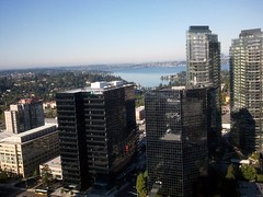 Aerial view of One Bellevue Center & Expedia Bldg © Bellevue.com