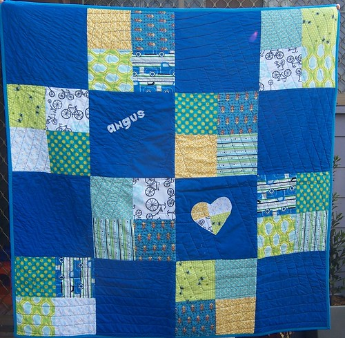 Quilt for Baby Angus