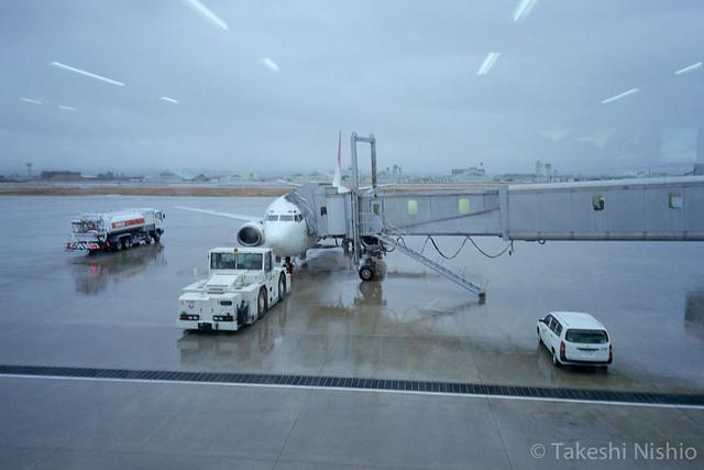 JTA037 搭乗 / Boarding
