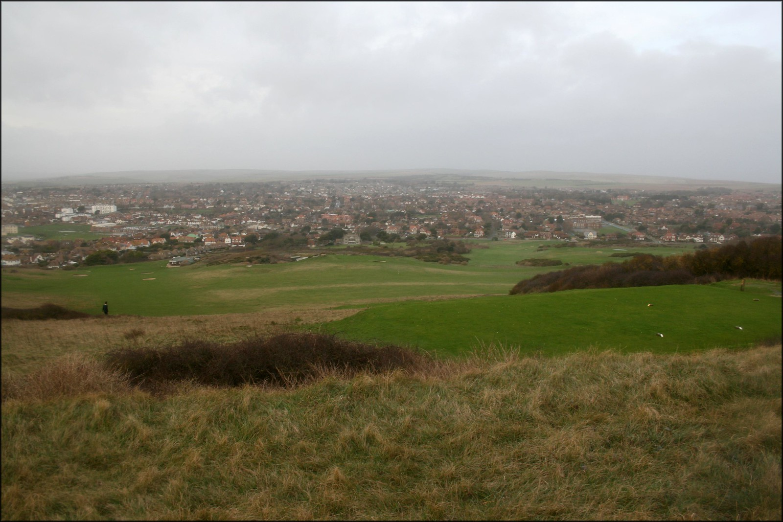 View over Seaford from Seaford Head