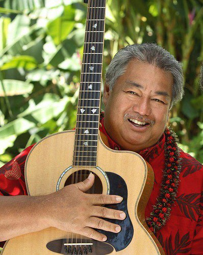 George Kahumoku Jr./ Photo by George Kahumoku Slackey Show