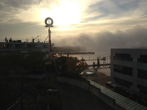 Still crazy amount of fog out this morning #Vancouver