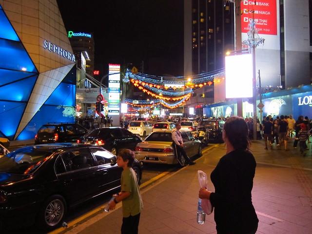 Kuala Lumpur. Décoration pour le nouvel an chinois